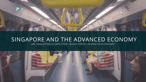 Singapore employees advanced economy