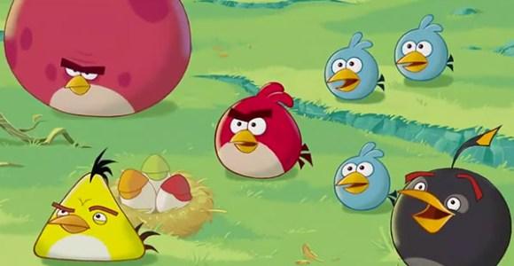 Τα κινούμενα σχέδια του Angry Birds
