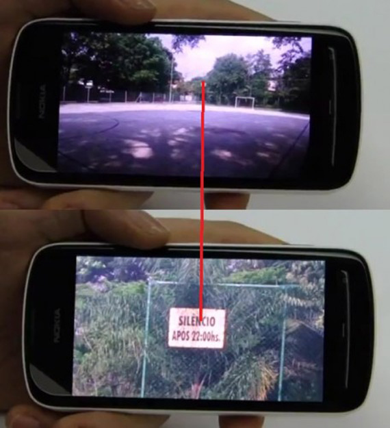 Nokia 808 Pure View zooming