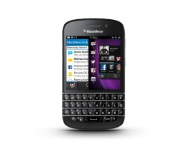 BlackBerry QZ10 Press Photo