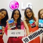 Η LG Πούλησε 10 Εκατομμύρια LTE Smartphones Παγκοσμίως