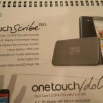 Αποκαλύφθηκε Το Alcatel One Touch Scribe Pro Με 6-Ίντσες Οθόνη, Τετραπύρηνο Επεξεργαστή