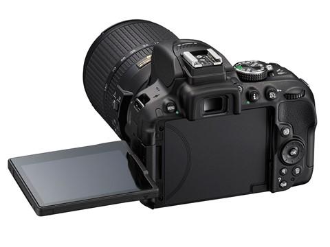 Nikon D5300 back