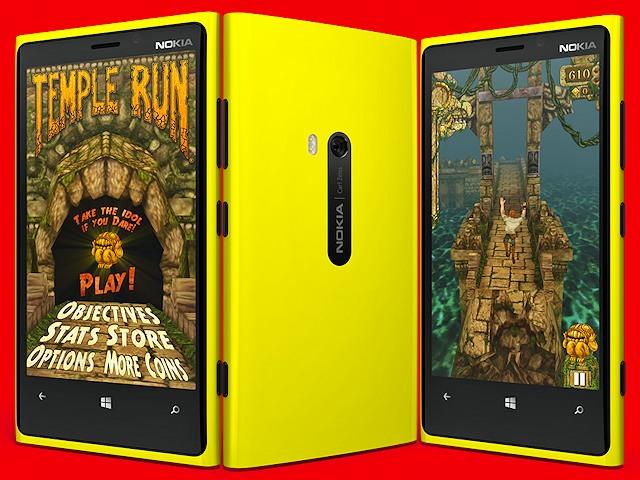 Temple Run on Windows Phone