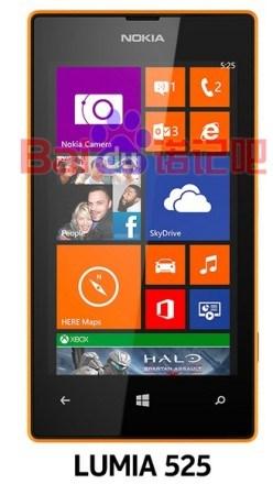 Nokia Lumia 525 leak