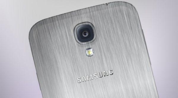 Metal Samsung Galaxy S5 Mockup