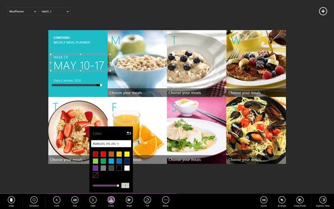 Screenshot από την εφαρμογή Project Siena.