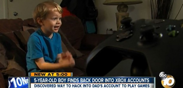 5-Year-Old Kid Xbox One