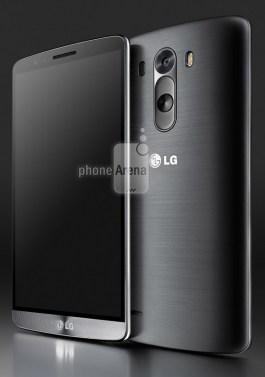 LG G3 press render black