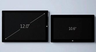 Microsoft Surface Pro 3 vs Microsoft Surface Pro 2