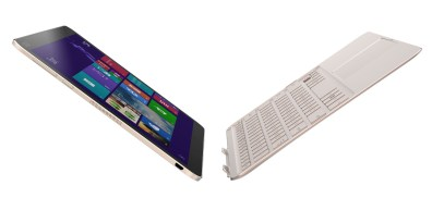 Asus Transformer T300 Chi side