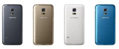 Samsung Galaxy S5 Mini back colors