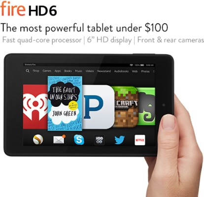 Amazon Fire HD6