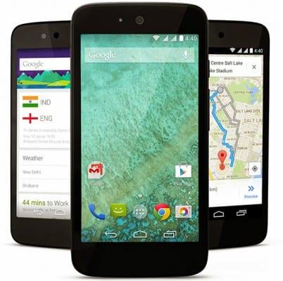 Android One smartphone Karbonn Sparkle V
