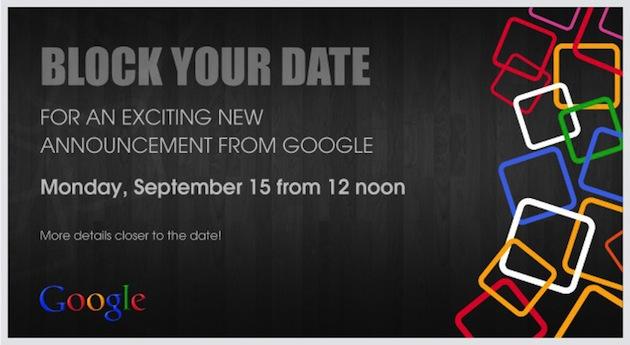 Google September event