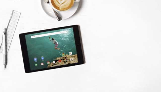 Google Nexus 9 with Android 5 Lollipop