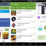 Το Google Play Store Αναβαθμίζεται Στην 5η Έκδοση Με Material Design