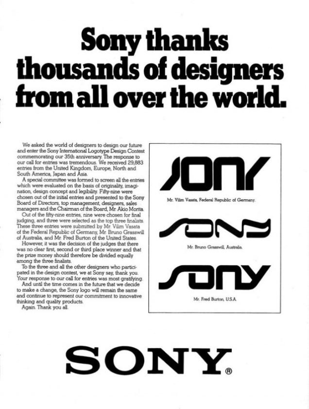 Sony Logos