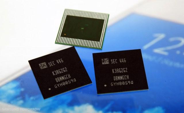 Samsung 8 Gigabit LPDDR4 Mobile DRAM