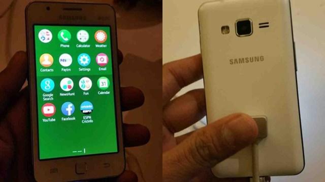 Samsung Z1 leak