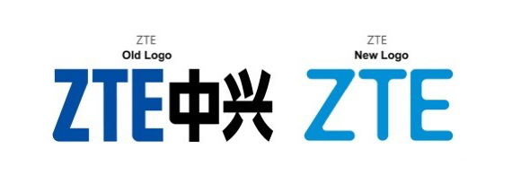 ZTE new logo vs old