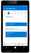 Windows 10 for Phone Calendar