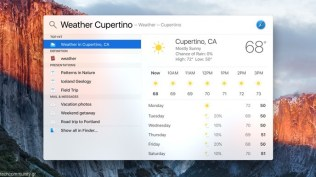 Apple Mac OS X El Capitan Spotlight