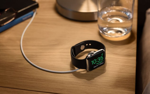 Apple Watch Nightstand mode