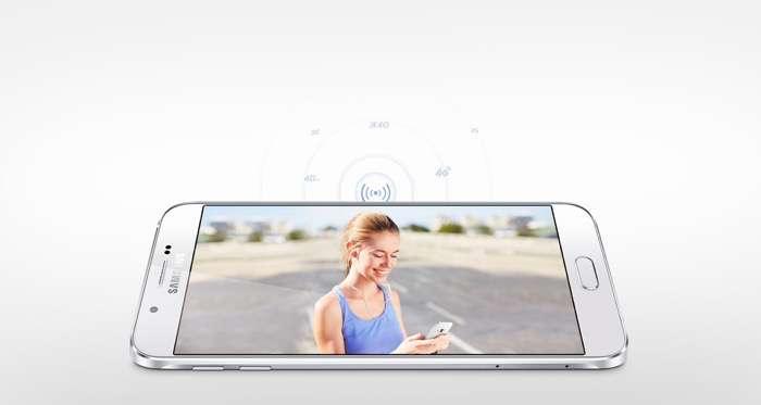 Samsung Galaxy A8 white