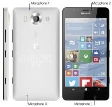 Microsoft Lumia 950 white leak