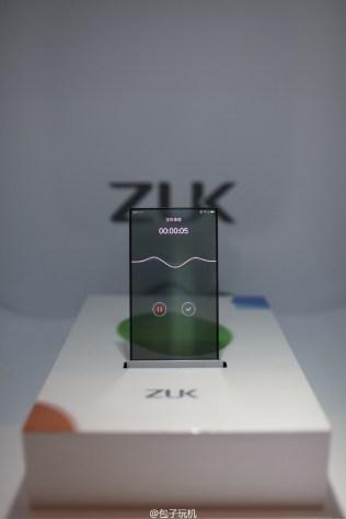 ZUK transparent screen phone prototype 5