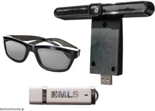 MLS SuperSmart TV 3D glasses and camera leak