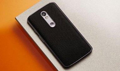 Motorola Moto X Force back