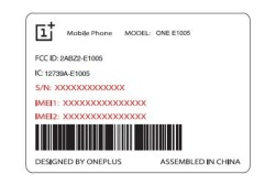 OnePlus One E1005 leak 3
