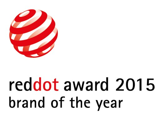 RED DOT 2015 Brand of the year Award