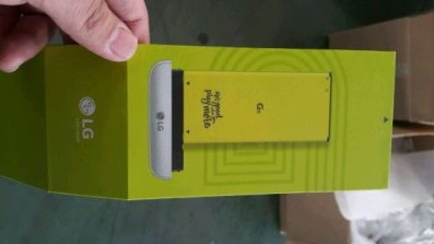 LG G5 battery box leak