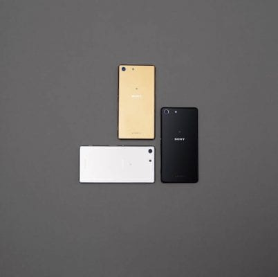 Sony Xperia M5 back