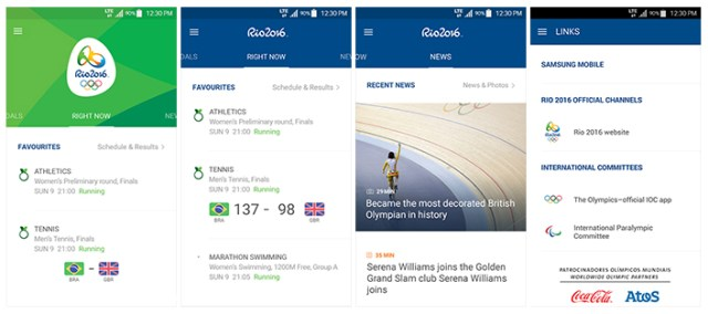 Samsung App Rio 2016 (2)