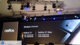 TP-Link Neffos X1 - X1 Max choices