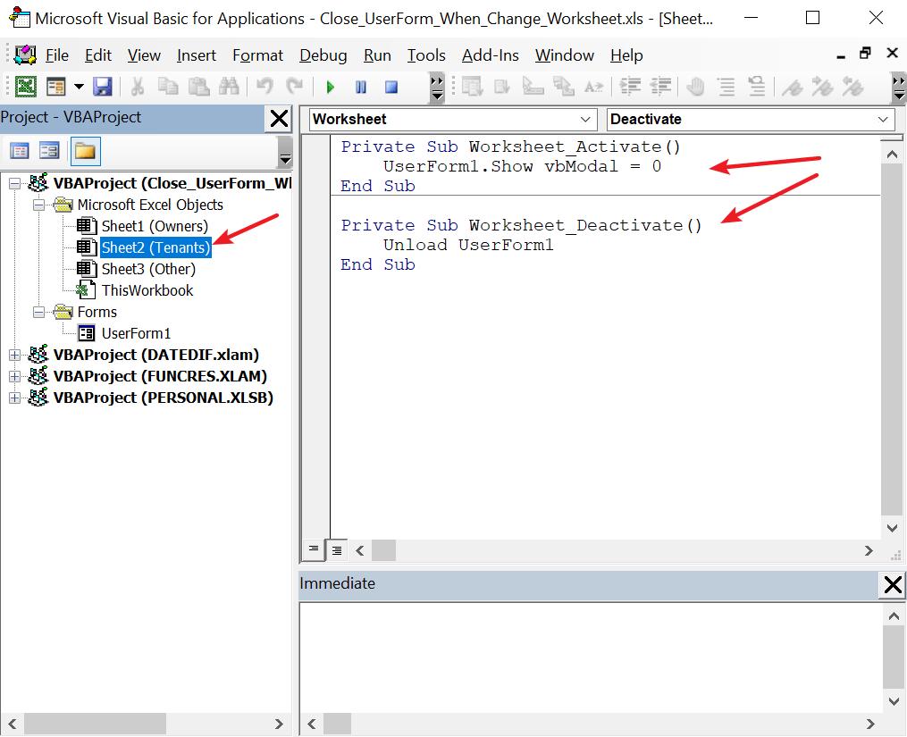 15 Vba Worksheet Activate Does Not Work