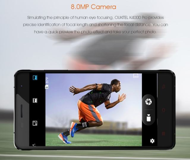 Oukitel K4000 Pro Review Rear Camera