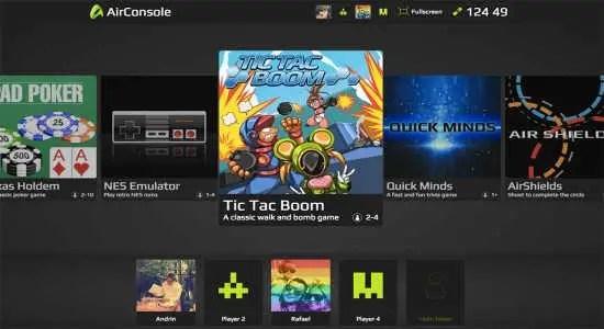 select airconsole games
