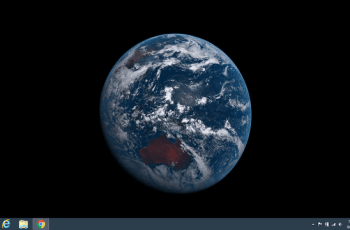 Set Real time Earth Picture from Space as Desktop Wallpaper