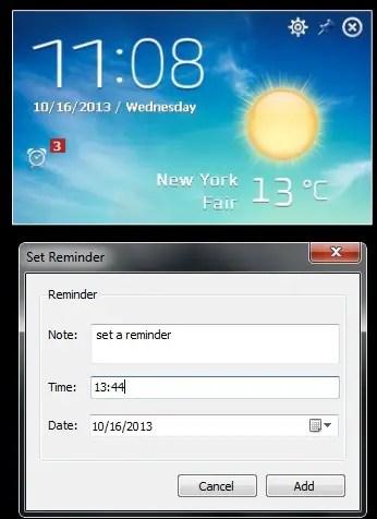 desktop weather app