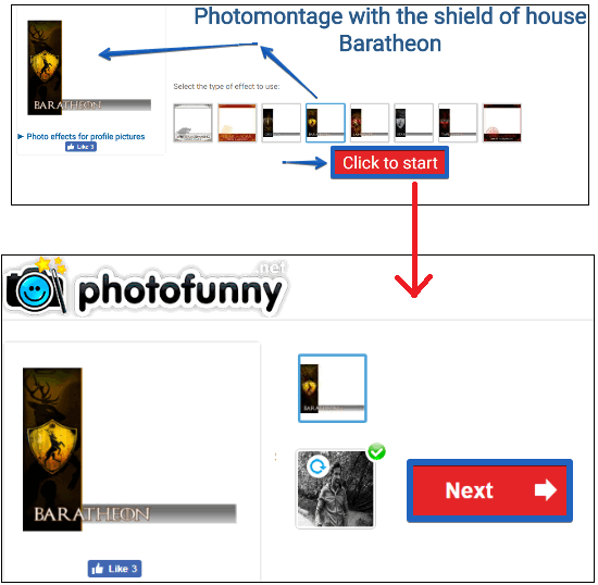 How to add Game of Thrones Profile Picture Frame, Filter on Facebook