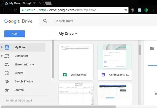 google 15 GB drive free cloud storage provider