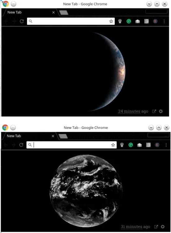 HIMAWARI SATTELITE SENDS LIVE IMAGES FRPM EARTH