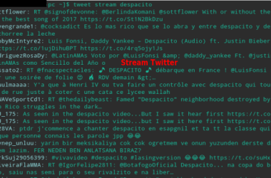Stream Twitter on your PC with a Specific Keyword, Stream Tweets on PC