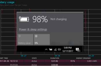 How to Generate Battery Health Report in Windows 10