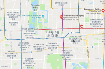 Google is not launching enhanced version of Maps for China